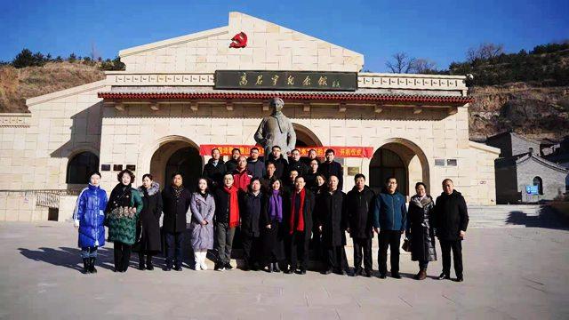 首部红色诗歌微电影在山西省太原市娄烦县高君宇故里开机